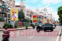 sewa media Videotron / LED Digital Banner LED Mall of Indonesia KOTA JAKARTA UTARA Street