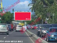 sewa media Billboard Jl. Piere Tendean – Boulevard Marina Plaza (B) KOTA MANADO Street