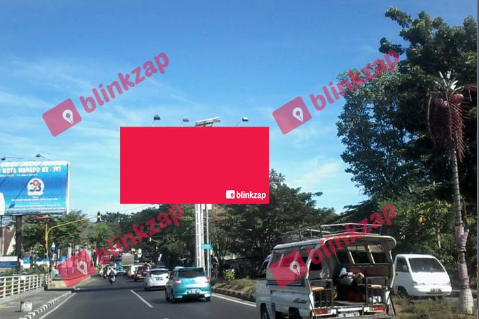 Sewa Billboard - Billboard Kairagi Horizontal (B) - kota manado
