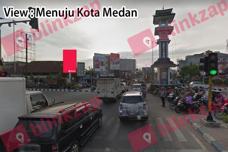 Sewa Billboard - Baliho Simpang Galang - kabupaten deli serdang