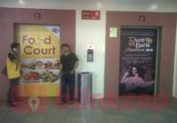 sewa media Sticker Pintu Lift Thamrin  KOTA JAKARTA PUSAT Mall