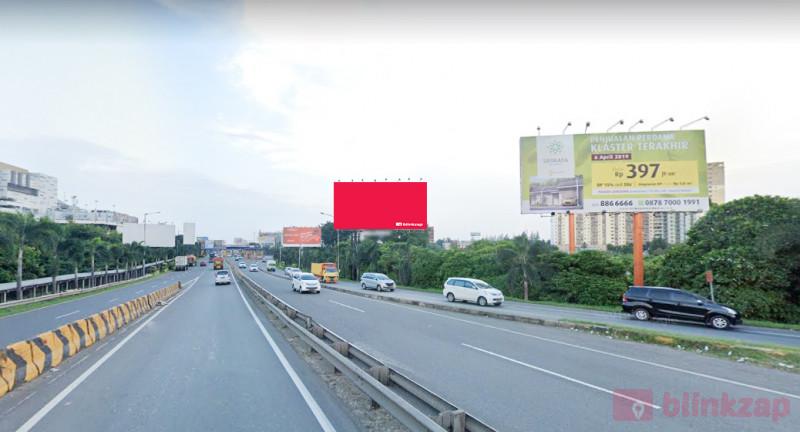 Sewa Billboard - Billboard Exit Tol Bekasi Barat - kota bekasi