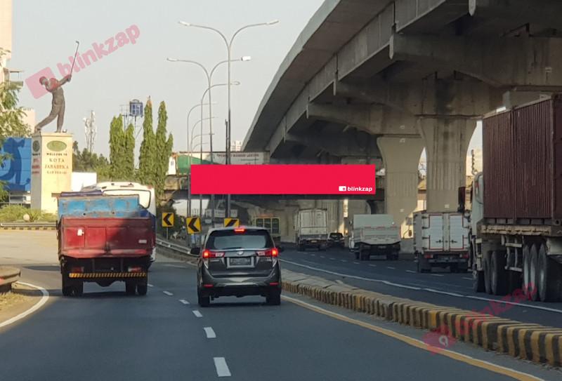 Sewa Billboard - Billboard JPO Jl. Tol Jakarta - Cikampek KM 31+200A - kabupaten bekasi