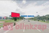 sewa media Billboard Billboard 3 Bandara Soekarno Hatta Airport KOTA TANGERANG Street
