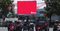 sewa media Videotron / LED Videotron Bandung jalan Supratman KOTA BANDUNG Street