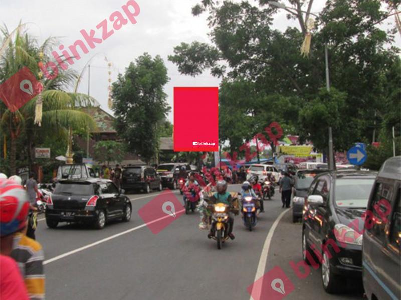 Sewa Billboard - Baliho Jl.Ngurah Rai (Perempatan Hasanudin) Negara - kabupaten jembrana