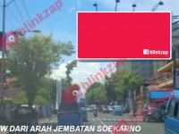 sewa media Billboard Billboard Jl. Sudirman {Depan Hotel Peninsula} (B) (A) KOTA MANADO Street