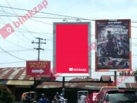 sewa media Billboard 215 Menteng Raya Simp Denai KOTA MEDAN Street