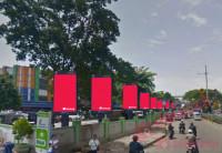sewa media Videotron / LED KRAMATJATI PYLON EXCLUSIVE KOTA JAKARTA TIMUR Street
