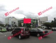 sewa media Videotron / LED Videotron Bandung jalan A.Yani perempatan RE M KOTA BANDUNG Street