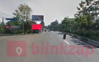 sewa media Billboard Billboard Pertigaan Thamrin ke Karawaci / Tangcity Mall (Jl MH Thamrin) KOTA TANGERANG Street