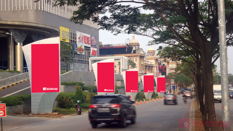 Sewa Videotron / LED - Digital Banner LED PIK Avenue - kota jakarta utara