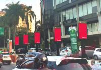 sewa media Videotron / LED CIKINI PYLON DOMINATION KOTA JAKARTA PUSAT Street