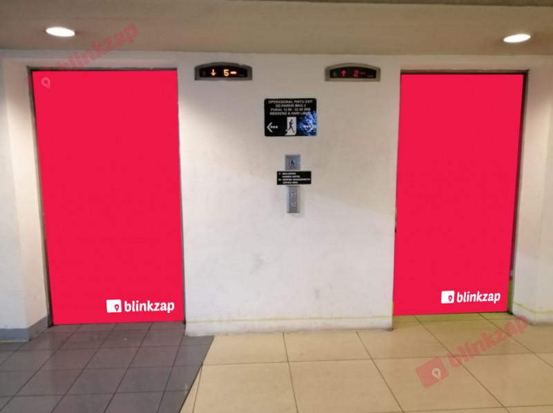 Sewa Lift - Sticker Lift - kota jakarta utara