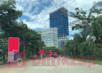 sewa media Videotron / LED Videotron / LED Digital Banner Downtown Alam Sutera KOTA TANGERANG Street