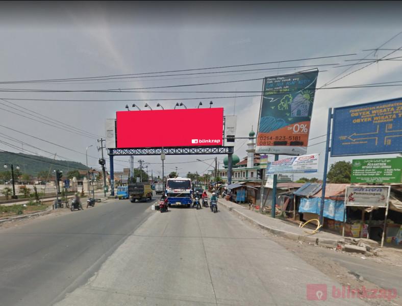 Sewa Billboard - Billboard Raya Cilegon ( Alun-Alun Kramatwatu ) - A - kabupaten serang