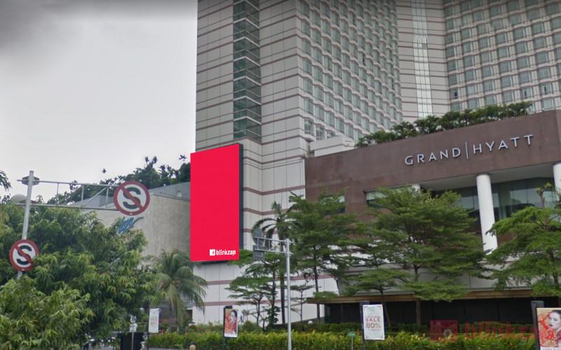 Sewa Videotron / LED - Led Plaza Indonesia (Bundaran HI Side) - kota jakarta pusat