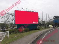 sewa media Billboard Billboard Tikungan Bandara  depan Gedung VIP, Jalan Gubernur H. Asnawi Mangku Alam Kota Palembang KOTA PALEMBANG Street
