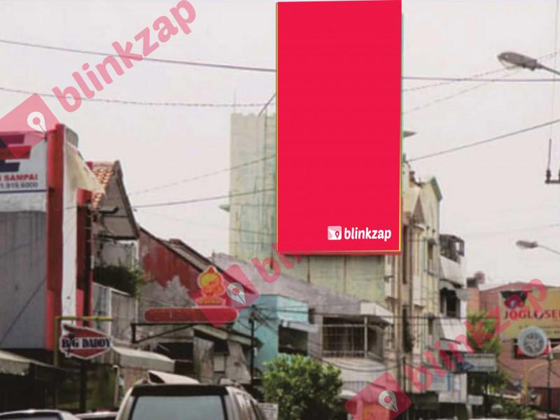 Sewa Billboard - Billboard Jl. Ronggowarsito Barat Balaikota - Solo - kota surakarta