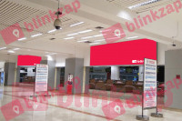 sewa media Neon Box Neon Box Imigration Area Terminal 2D Departure KOTA TANGERANG Airport
