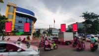 sewa media Videotron / LED KENARI PYLON EXCLUSIVE KOTA JAKARTA PUSAT Street