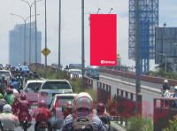 sewa media Billboard Billboard Pasar Kembang 130A (Dekat air isi ulang) menuju Diponegoro KOTA SURABAYA Street