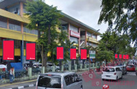 sewa media Videotron / LED TOMANG BARAT PYLON DOMINATION KOTA JAKARTA BARAT Street