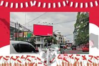 sewa media Billboard Promo Pancasila 6 KOTA MEDAN Street