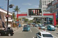 sewa media Billboard MND70 KOTA MANADO Street