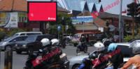 sewa media Videotron / LED Videotron Bandung jalan Laswi KOTA BANDUNG Street