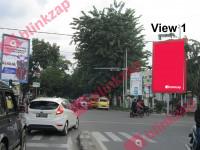 sewa media Billboard Baliho Jl.Iskandar Muda Simp. Jl. Abdullah Lubis KOTA MEDAN Street