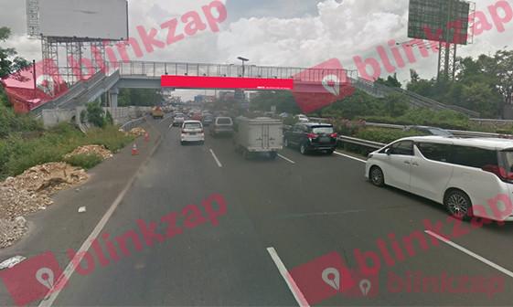 Sewa Billboard - JPO Jl Tol CTC Sedyatmo Km 30+600 AX - kota jakarta barat