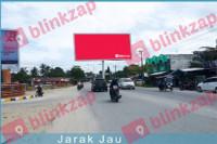 sewa media Billboard Simpang Komando 2 KOTA LANGSA Street