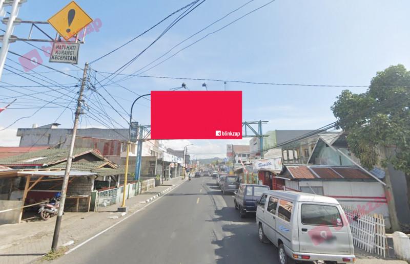Sewa Billboard - Billboard Jl. Raya Tomohon – Depan Patung Tololiu B - kota tomohon