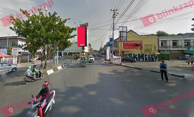 Sewa Billboard - Billboard Jalan Veteran x Jalan Kumala - kota makassar