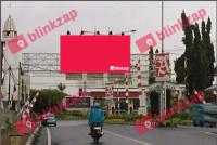 sewa media Billboard Billboard Jalan Dpn Pintu Gerbang Bandara (A) KOTA MANADO Street