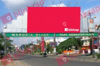 sewa media Billboard Billboard PLBROBB03, Jalan R Sukamto - Kota Palembang KOTA PALEMBANG Street