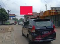 sewa media Billboard Billboard Jl. H. Nawi Malik Pertigaan Bojongsari Serua. ( View dari Serua Menuju UNPAM Surya Kencana ) KOTA DEPOK Street