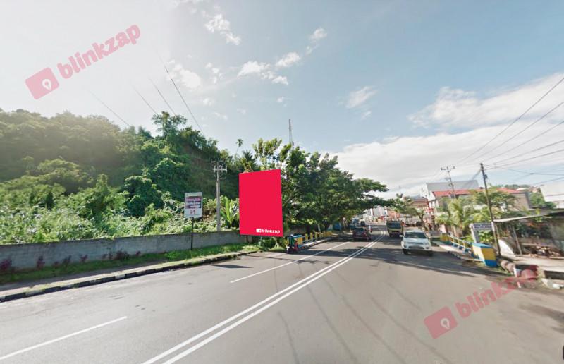 Sewa Billboard - BIllboard Jl. Yos Sudarso –  Paal 2 (Depan PT Air ) - kota manado