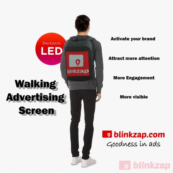Sewa Vendor - LED - Backpack  - kota jakarta selatan