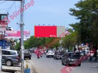 Billboard Jalan Veteran x Jalan Monginsidi (A)