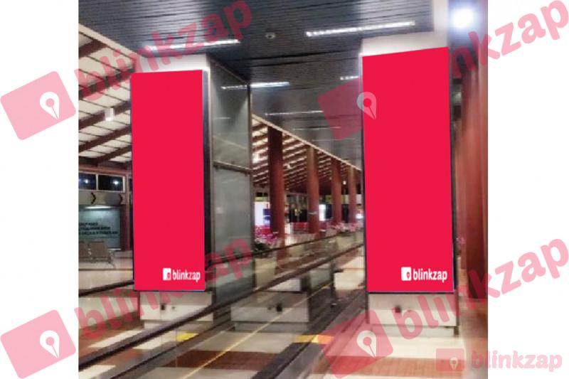 Sewa Neon Box - Neon Box Central Corridor Terminal 2E Departure - kota tangerang