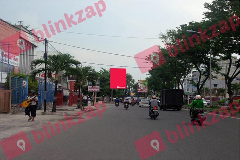 Sewa Billboard - Baliho Gatot Subroto Dekat Supermarket Berastagi D - kota medan