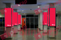 sewa media Neon Box Neon Box Arrival Area To Baggage Claim KABUPATEN LAMPUNG SELATAN Airport