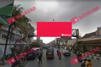 sewa media Billboard JPO Jl.Pungkur Depan mall ITC KOTA BANDUNG Street