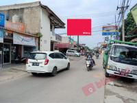 sewa media Billboard Billboard Jl. H. Nawi Malik Pertigaan Bojongsari Serua. ( View dari UNPAM Surya Kencana Menuju Serua ) KOTA DEPOK Street