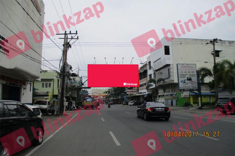 Sewa Billboard - Billboard Jl Thamrin Simpang Jl Sei Kera - kota medan