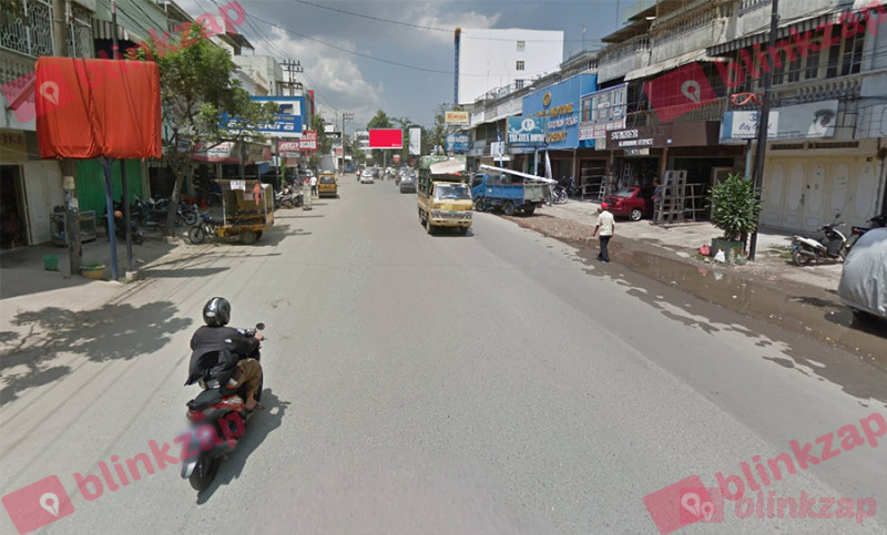 Sewa Billboard - Billboard EKA-008, Jalan Sutomo Ujung Kota Medan - kota medan