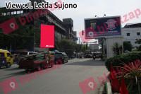 Baliho Jl H M Yamin Simpang Jl Aksara