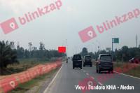 sewa media Billboard jl. Bandara Kuala Namu Deli Serdang KNIA KM 4 (2) KABUPATEN DELI SERDANG Street